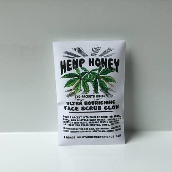 Face Scrub Glow | Hemp Honey-1