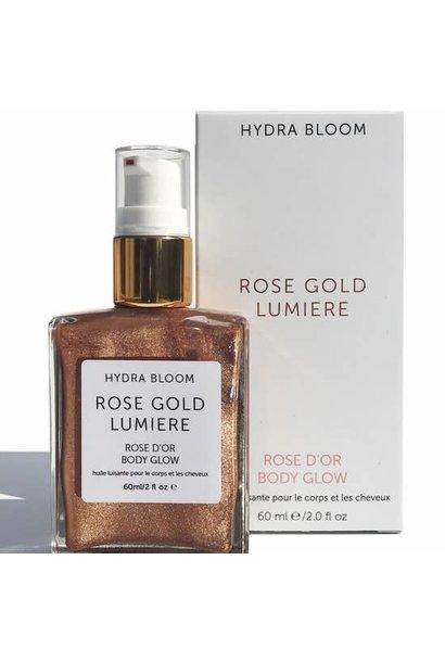 Hydra Bloom Body Glow | Rose Gold