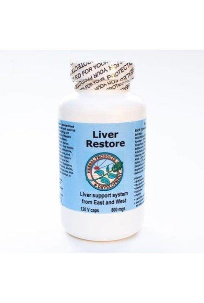 1519 - Liver Restore 120 Caps - Liver Cleanse