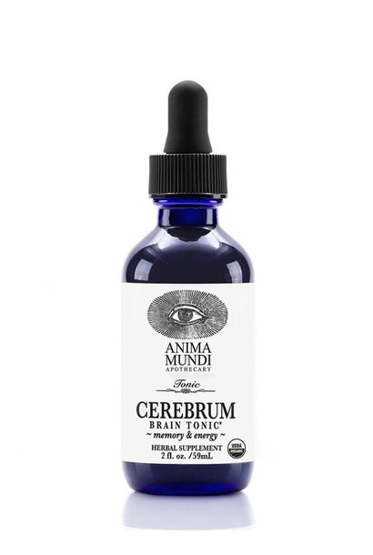 Cerebrum Tincture | Adaptogenic Brain Tonic for Memory & Energy