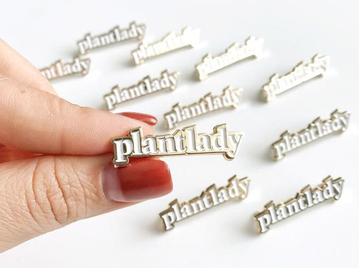 Enamel Pin | Plant Lady-1