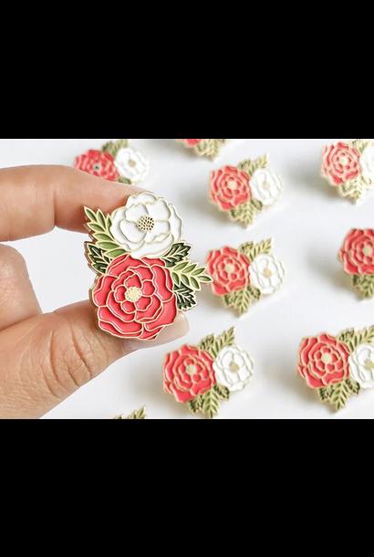 Enamel Pin | Floral Cluster