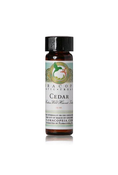 3210 - Cedar Essential Oil - Wild Harvested - 1/2oz - Floracopeia