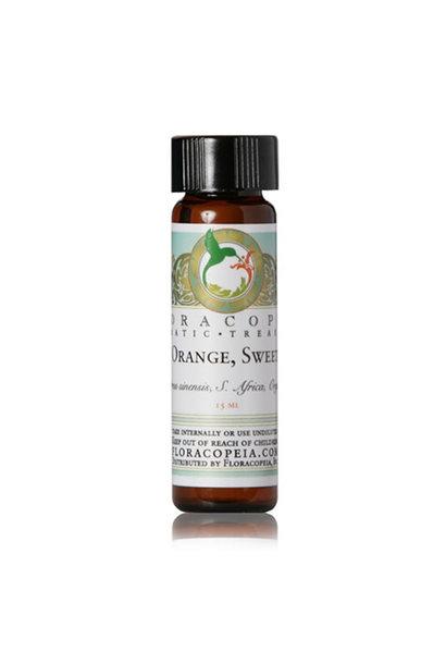 3219 - Sweet Orange Essential Oil - Organic - 1/2oz - Floracopeia