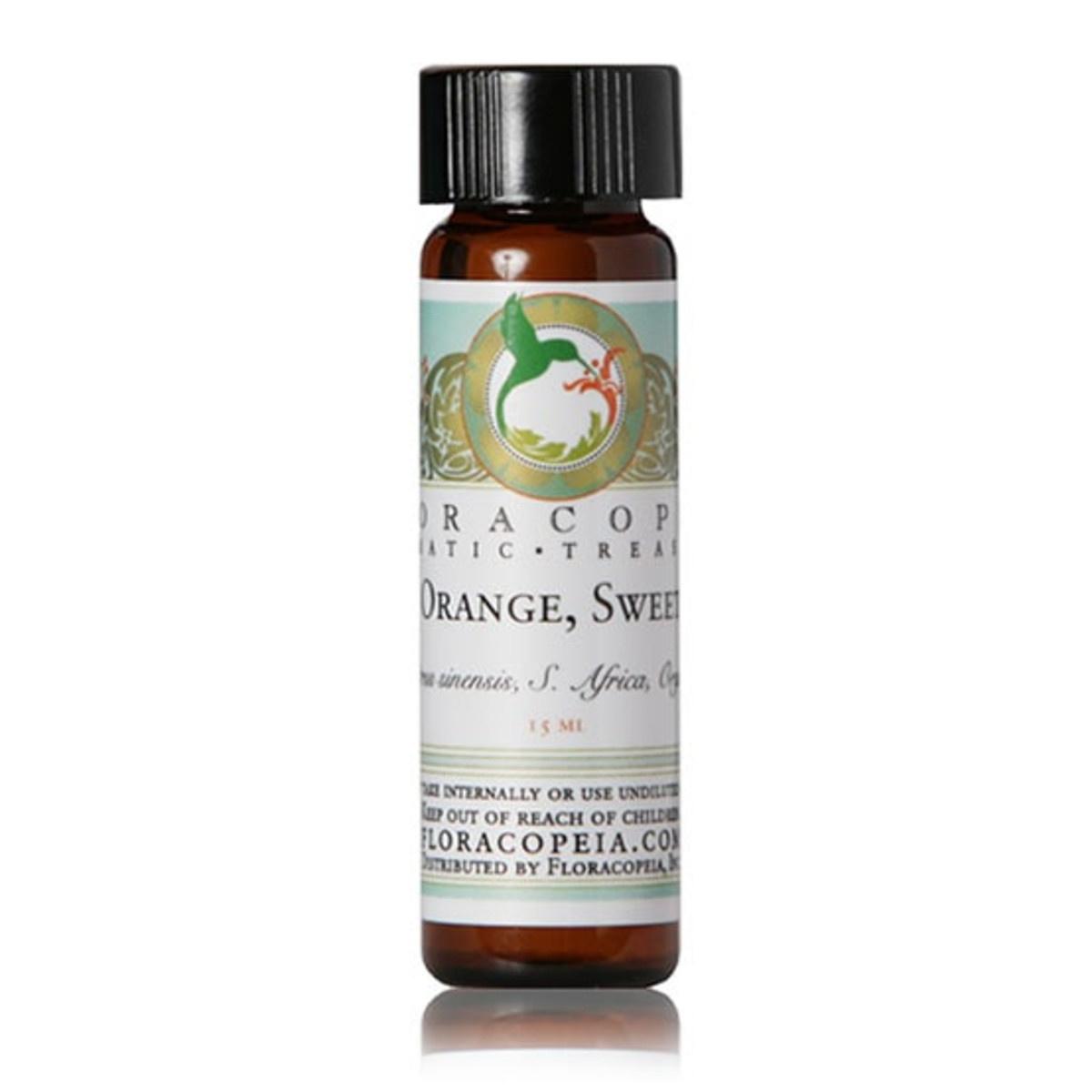 Sweet Orange Essential Oil - Organic-1