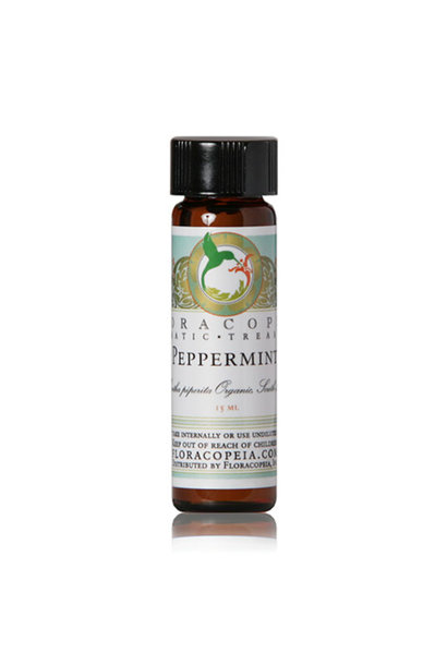 3222 - Peppermint Essential Oil - India - 1/2oz - Floracopeia