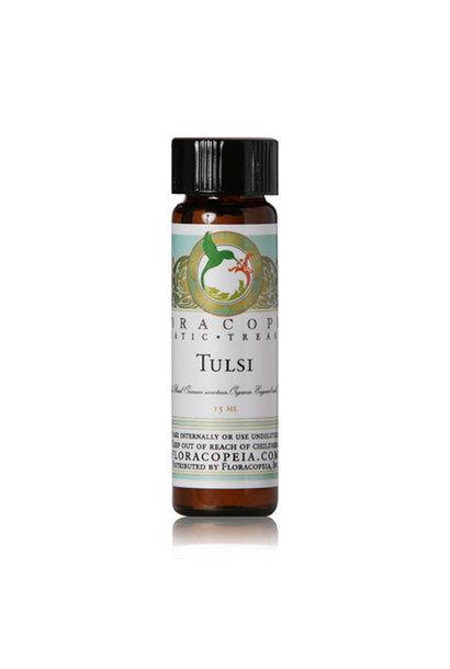 3225 - Tulsi Essential Oil - Holy Basil - 1/2oz - Floracopeia