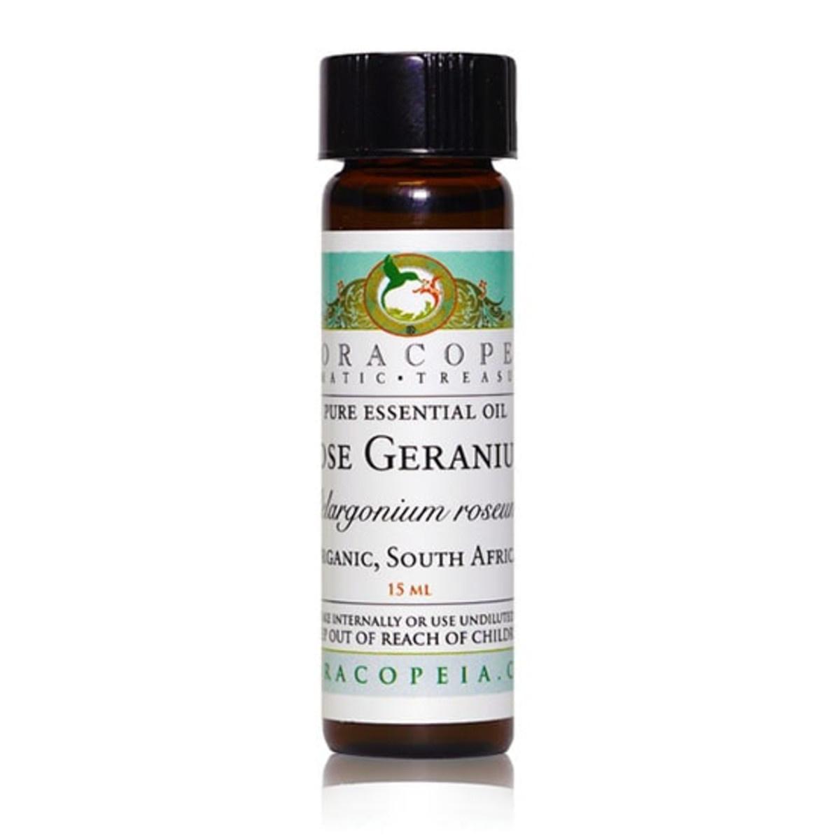 Rose Geranium Essential Oil-1