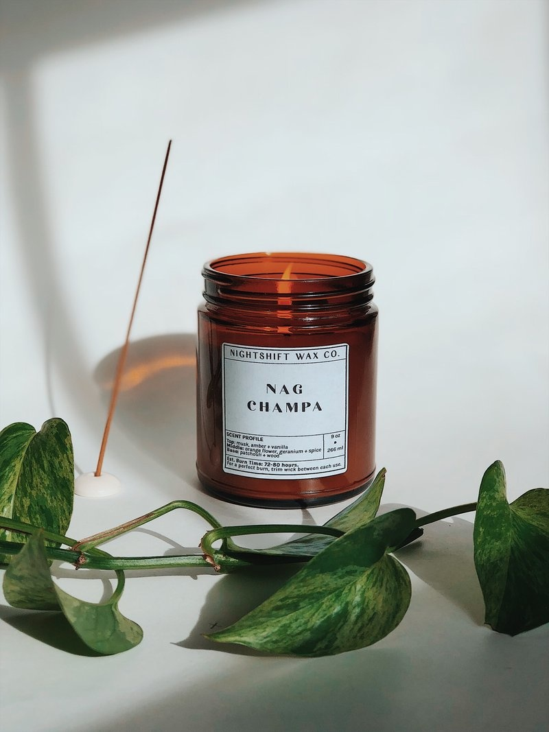 Soy Candle | Nag Champa-1