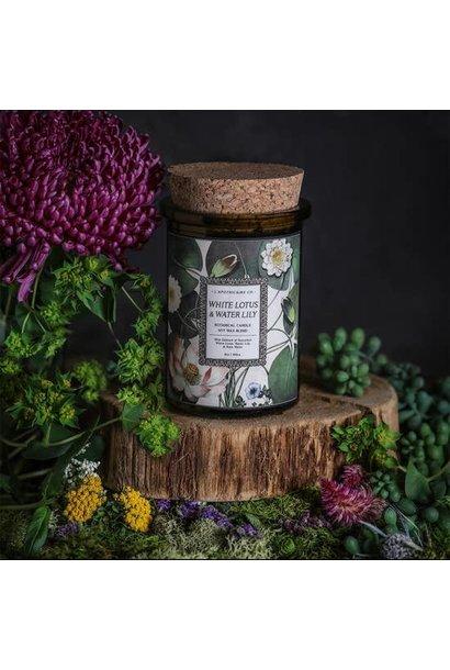 Botanica Candle   White Lotus & Waterlily