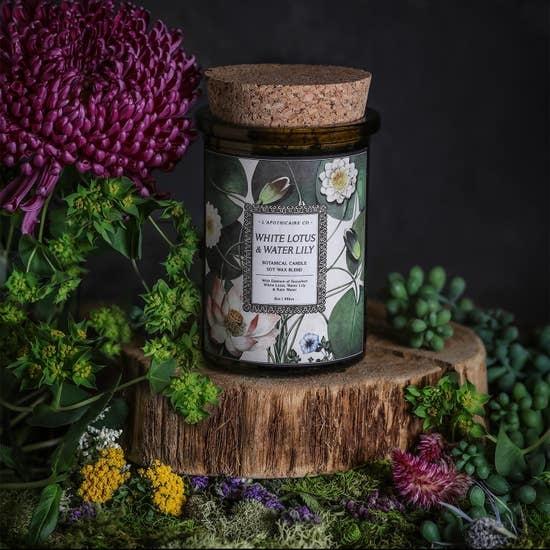 Botanica Candle   White Lotus & Waterlily-1