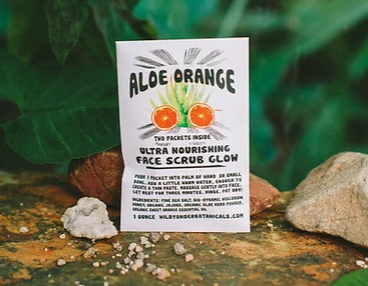 Face Scrub Glow | Aloe Orange-2
