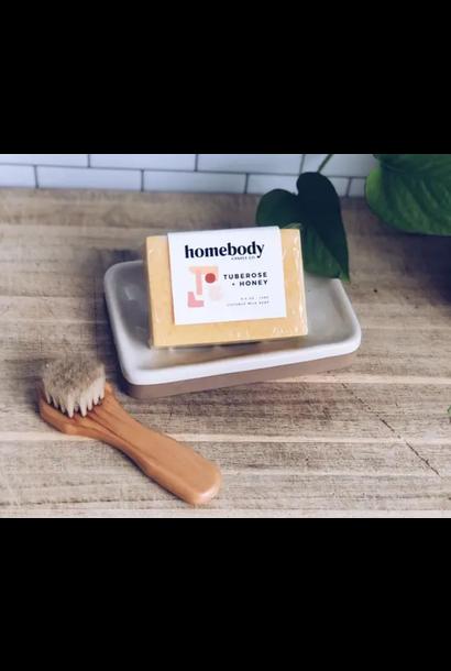 Coconut Milk Soap | Tuberose + Honey