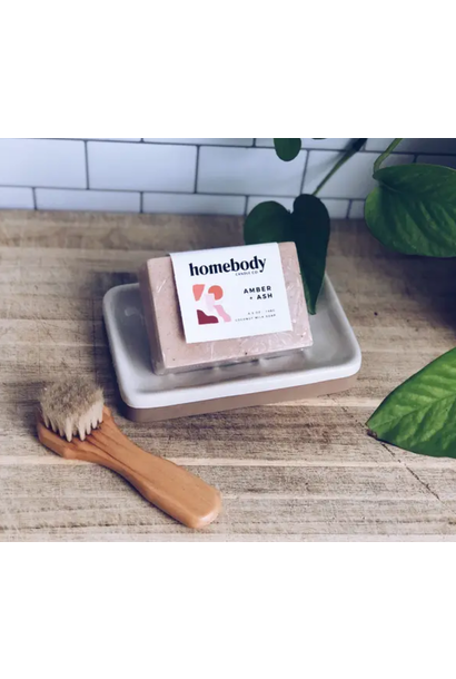 Soap | Amber + Ash + Milk