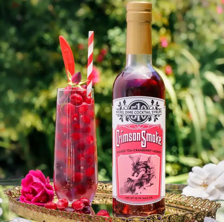 Crimson Smoke | Cocktail Syrup-1