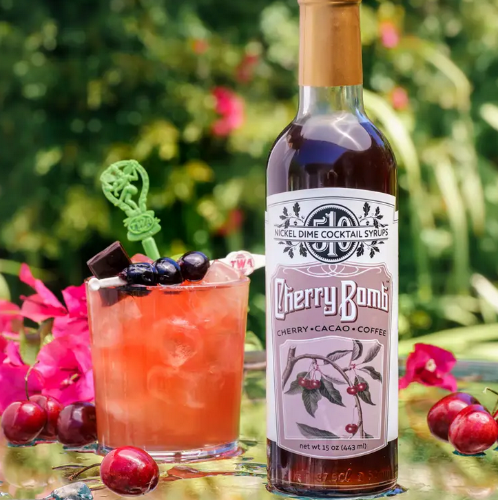 Cherry Bomb | Cocktail Syrup-1