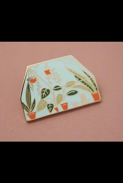 Enamel Pin | Greenhouse
