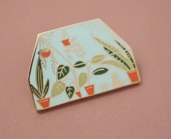 Enamel Pin | Greenhouse-1