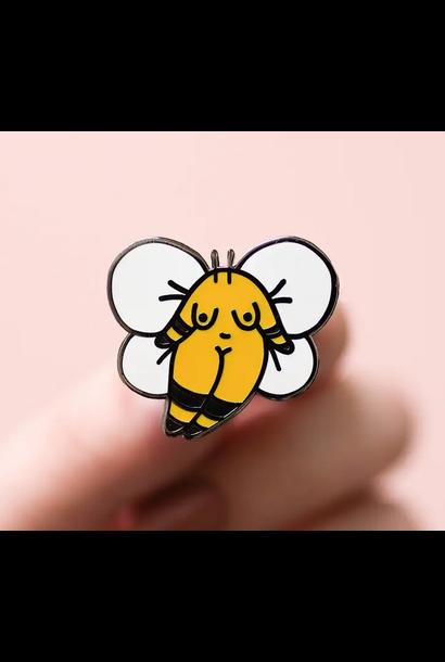 Enamel Pin | Bumble Bee Girl