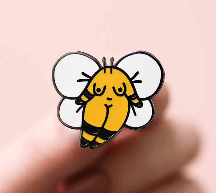Bumble Bee Girl | Enamel Pin-1