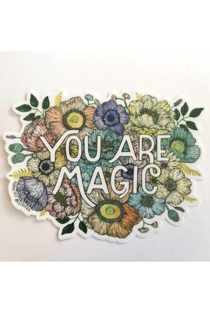 You Are Magic | Matte Vinyl Sticker
