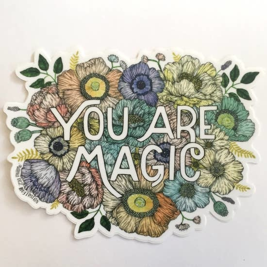 You Are Magic | Matte Vinyl Sticker-1