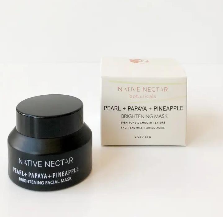 Pearl + Papaya + Pineapple | Face Mask-1