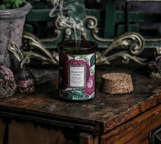 Botanica Candle | Plum Rose & Sake-1