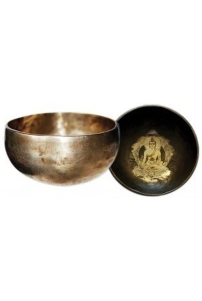 Singing Bowl   Hand Beaten & Hand Carved
