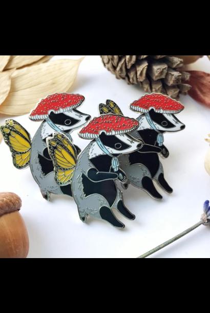 Enamel Pin | Badger Fairy