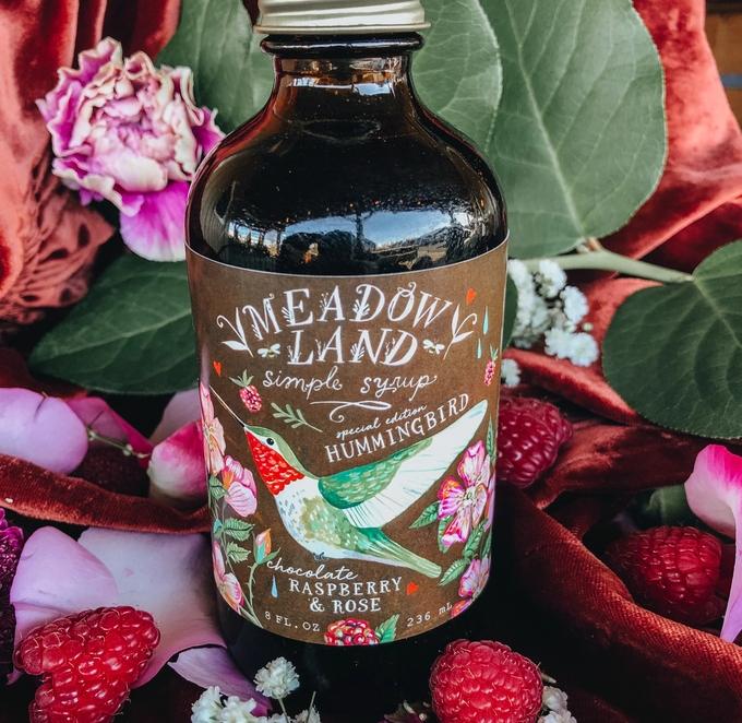 Chocolate Hummingbird | Chocolate Raspberry & Rose Syrup-1