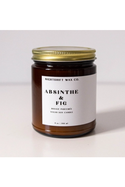 Soy Candle | Absinthe + Fig