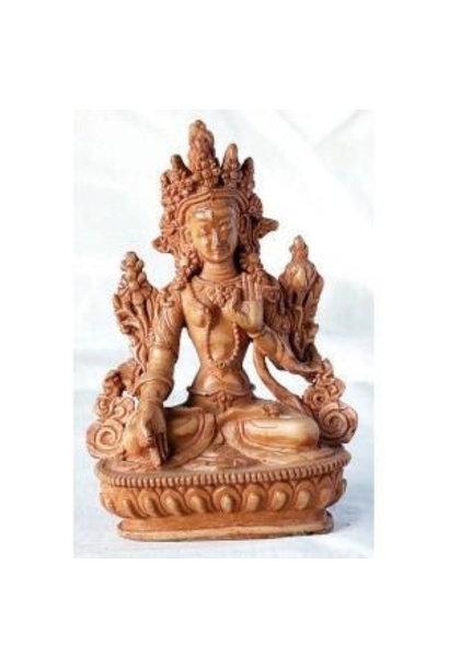 Resin Statue | Sitting Goddess White Tara Statue