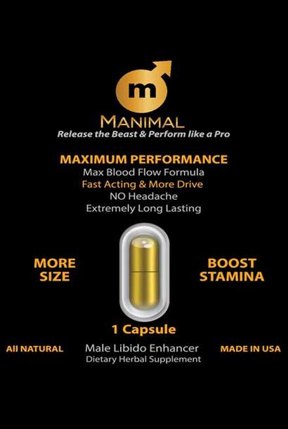 Manimal | Male Libido Enhancer