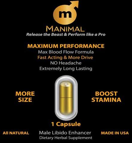 Manimal | Male Libido Enhancer-1
