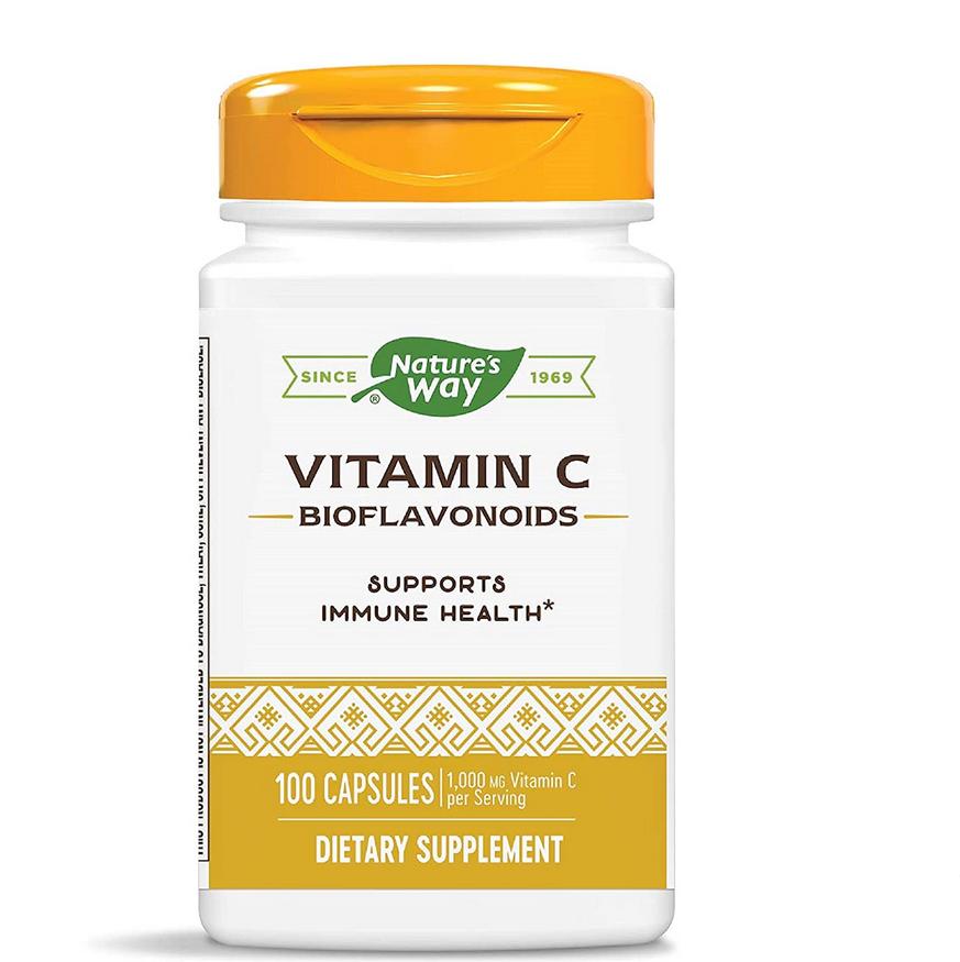 Vitamin C with Bioflavonoids   Dietary Supplement-1