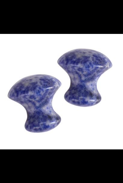Mushroom Gua Sha Massager | Sodalite