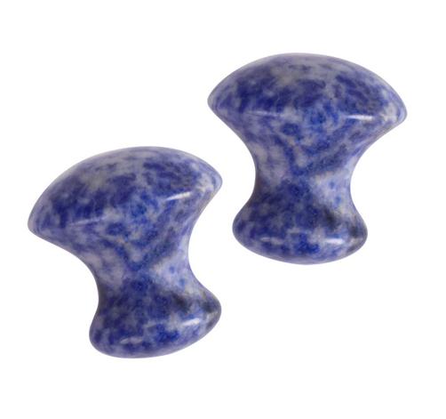Mushroom Gua Sha Massager | Sodalite-1