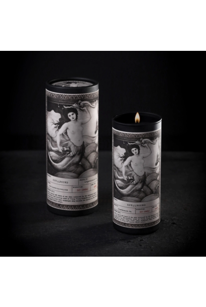 Noir Ritual Candle   Spellbound