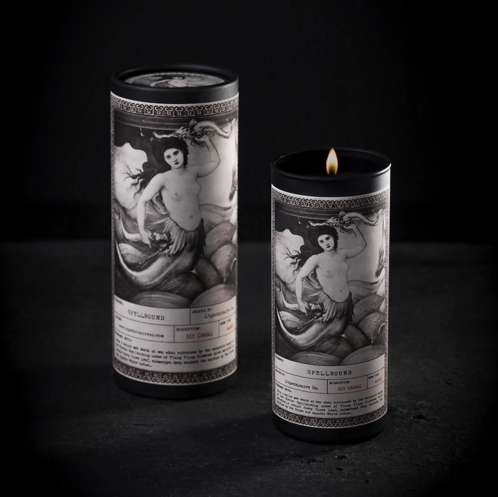 Noir Ritual Candle   Spellbound-1