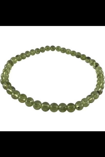 Tumbled Stone Bracelet | Peridot | 3-6mm