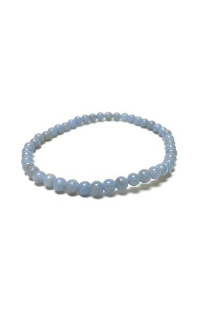 Tumbled Stone Bracelet | Angelite | 4mm