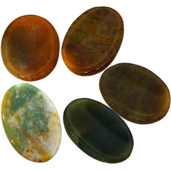 Worry Stone | Mixed Jasper-1