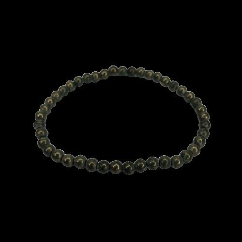 Tumbled Stone Bracelet | Pyrite | 4mm-2