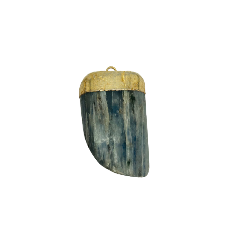 Pendant | Tumbled Blue Kyanite-1