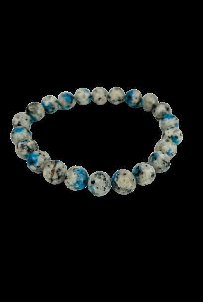 Tumbled Stone Bracelet | K2 Stone | 8mm