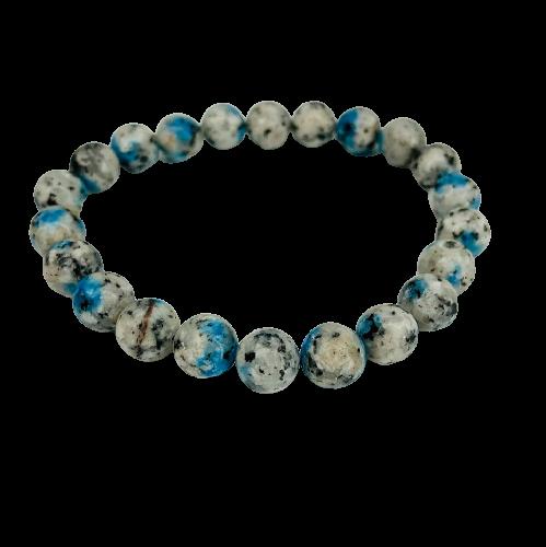 Tumbled Stone Bracelet | K2 Stone | 8mm-1