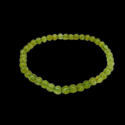 Tumbled Stone Bracelet | Peridot | 3-6mm-2