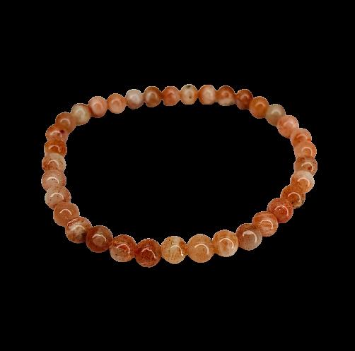 Tumbled Stone Bracelet | Sunstone | 5-6mm-2