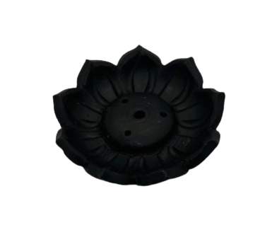 Incense Holder | Black Lotus Flower-1